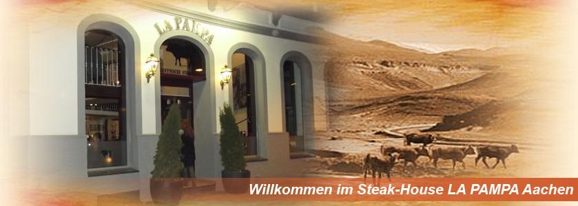Willkommen im Steak-House LA PAMPA Aachen