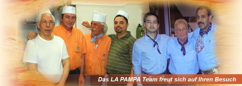 Das LA PAMPA Team freut sich auf Ihren Besuch
